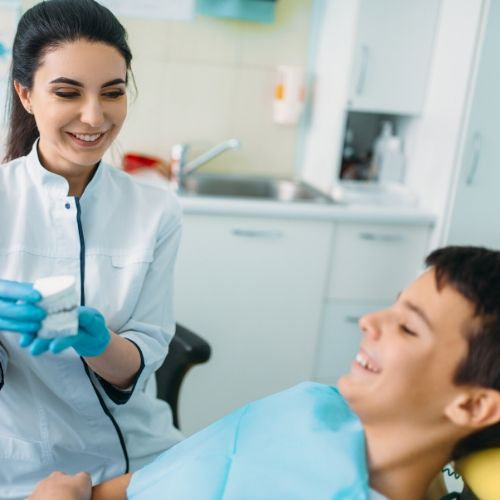 ortodoncia en niños